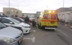 פיגוע דקירה במחסום קלנדיה