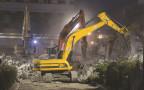 עבודות בכיכר דיזנגוף