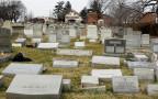 בית קברות יהודי שהושחת בפילדלפיה