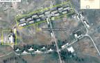צילום אוויר של בסיס שמקימה איראן דרום לדמשק בסוריה