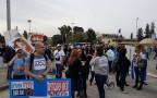 הפגנת עובדי טבע מול משרד ראש הממשלה