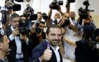 סעד אל-חרירי מצביע בבחירות בלבנון