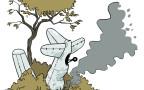איור: מטוס מרוסק