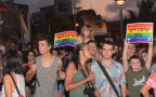 הפגנה נגד חוק הפונדקאות