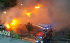מכבי האש נאבקים בשריפות שפרצו ברחבי שוודיה