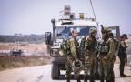 """כוח צה""""ל בגבול רצועת עזה"""