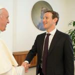 האפיפיור נפגש עם מארק צוקרברג