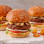 המבורגרים בטעמים של בורגרים