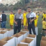 """בית""""ר ירושלים במבצע תרומה לחג"""