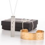תכשיטים מעוצבים בכתב ברייל