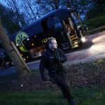 אוטובוס דורטמונד לאחר הפיצוץ