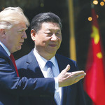 דונלד טראמפ ונשיא סין שי ג
