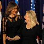 הזוג נתניהו עם הזוג טראמפ