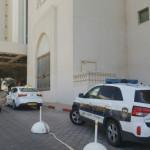 ניידת משטרה באזור מלון הרודס באילת