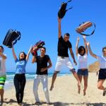 תלמידי מקיף רבין באשקלון יוצאים לחופש הגדול