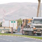 גשר חוסיין במעבר הגבול בין ירדן וישראל