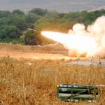 """צה""""ל יורה אש לעבר חיזבאללה"""