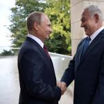 ולדימיר פוטין וראש הממשלה בנימין נתניהו