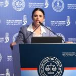 איילת שקד בכנס לשכת עורכי הדין