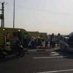 תאונת הדרכים בכביש 25