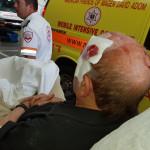 קשיש שהותקף על ידי נתין זר בתל אביב