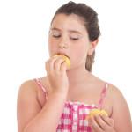 נערה אוכלת, אילוסטרציה