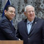 הנשיא ריבלין עם נשיא גואטמלה, ג