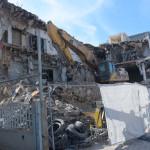 הריסת בניין בני ברית בתל אביב