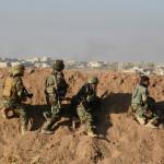 כוחות כורדים ליד מוסול