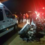 זירת התאונה הקטלנית בשומרון