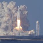 שיגור הרקטה של spacex