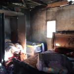 שריפה בבית בחורה