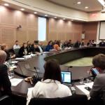 דיון בוועדת הכנסת על חוק הלאום