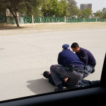 המשטרה עוצרת חשוד בבאר שבע