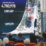 """ראש הלמ""""ס הפלסטינית מציגה את הדוח הדמוגרפי ברמאללה"""