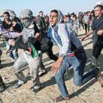 הפגנה בגבול עזה