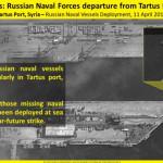 תמונות לווין של בסיס ימי טרטוס לאחר עזיבת הספינות הצבאיות הרוסיות