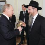 הרב ברל לזר עם ולדימיר פוטין
