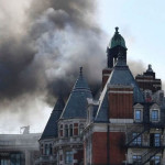 השריפה במלון במרכז לונדון