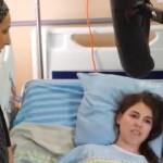 שובה מלכה בבית החולים