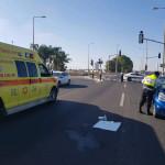 תאונה בכביש 40