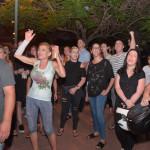 הורים מפגינים מול בית הגננת החשודה בהתעללות
