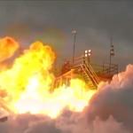 פיצוץ טיל ביפן במהלך השיגור