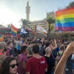 """צעדת הלהט""""ב בתל אביב"""