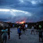 שריפות ליד אתונה