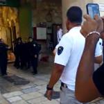 זירת אירוע ניסיון הדקירה בירושלים