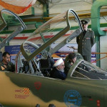 רוחאני במטוס הקרב החדש