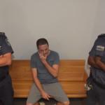 מאמן הכדוריד בנו ריינהורן בפתיחת משפטו