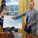 טראמפ בדיון על ההכנות לקראת הוריקן פלורנס