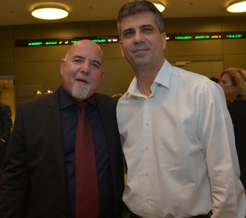 אלי כהן ואילן פלטו (צילום: יוסי זיליגר)